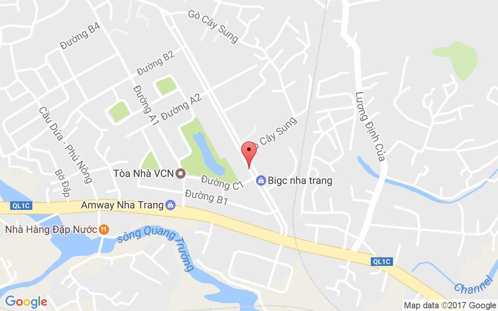 Vị trí bản đồ Đối Diện Siêu Thị Big C, Khu Đô Thị Vĩnh Điềm Trung, Đường 19 Tháng 5 Tp. Nha Trang Khánh Hoà