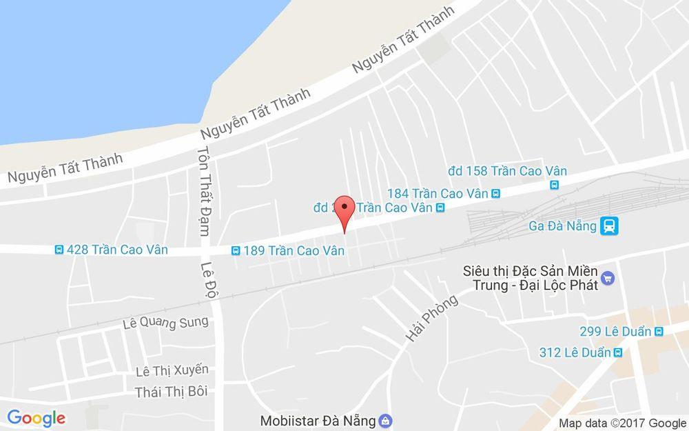 Vị trí bản đồ 145/2 Trần Cao Vân Quận Thanh Khê Đà Nẵng