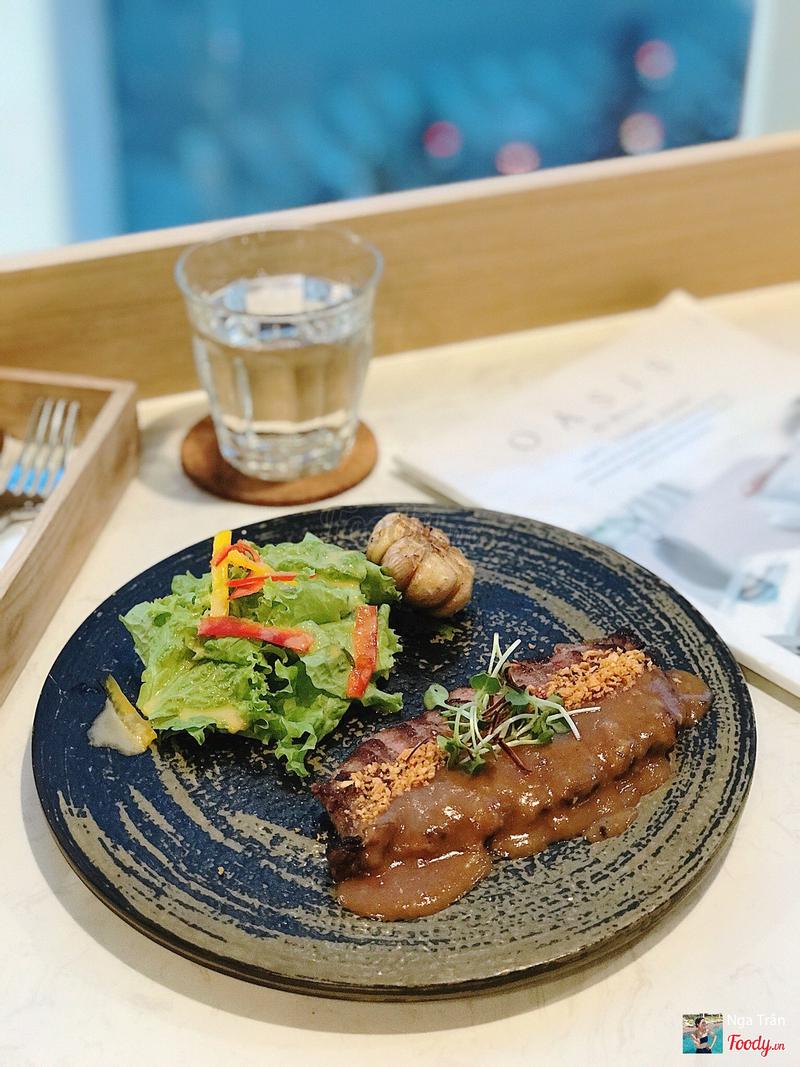 Char-Grilled Rib Eye Steak