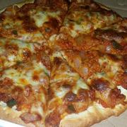 Pizza gà cay hương vị Hàn quốc