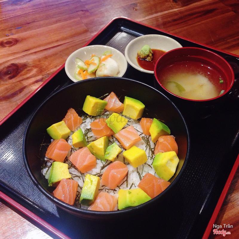 Cơm Sushi Hải Sản - 129k