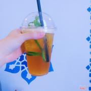 trà chanh bạc hà dubai