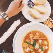 Soup tom yum