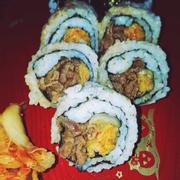 Sushi bò áp chảo