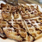 Waffle món mới