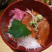 cơm sashimi cá hồi