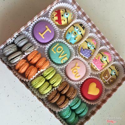 Bánh macaron rất thích hợp để làm quà tặng ^^