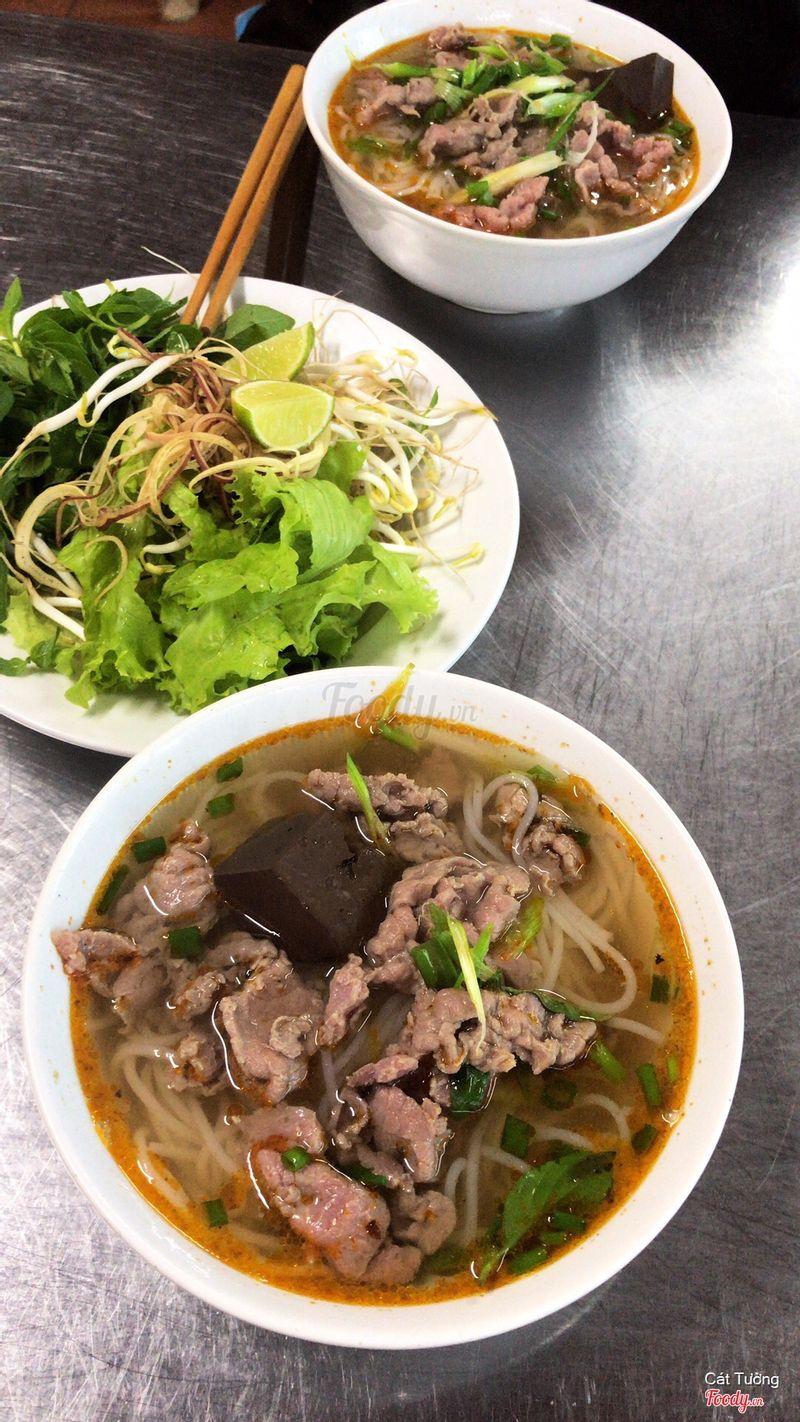 Bún Bò Huế - Huyết Mềm + Bò Nhún