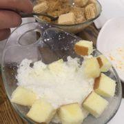 Cheesecake và coconut coffee bingsu