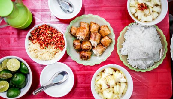 Bún Chả & Nem Cua Bể - Yên Hòa