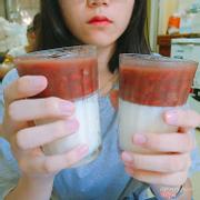sữa chua đậu đỏ