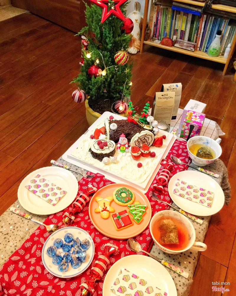 bánh Noel khúc gỗ