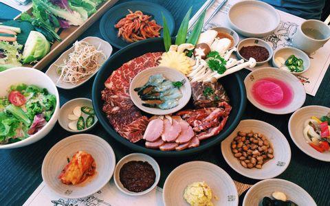 Nhà hàng món Hàn ở Hà Nội