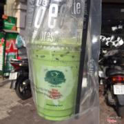 Green tea latte size nhỏ 35k
