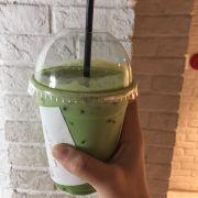 Green tea latte 35k