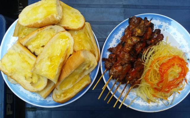 Bánh Mì Bò Nướng Bơ Cambodia