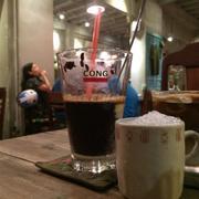 Sữa chua nếp cà phê