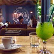 Espresso ft kiwi lô hội ngon tuyệt vời!