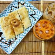 Bánh chuối chiên kiểu Thái ~ Trà sữa HK ~ Trà sữa Thái