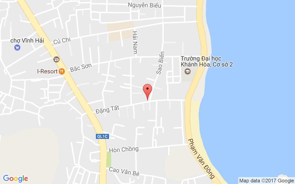 Vị trí bản đồ 9A Đặng Tất, P. Vĩnh Hải Tp. Nha Trang Khánh Hoà
