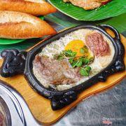 Bò Né combo 2 (trứng, pate, chả, thịt) địa chỉ: 09 Bàu Hạc 2, giá 25k ạ