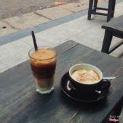 Bạc xỉu và cà phê trứng