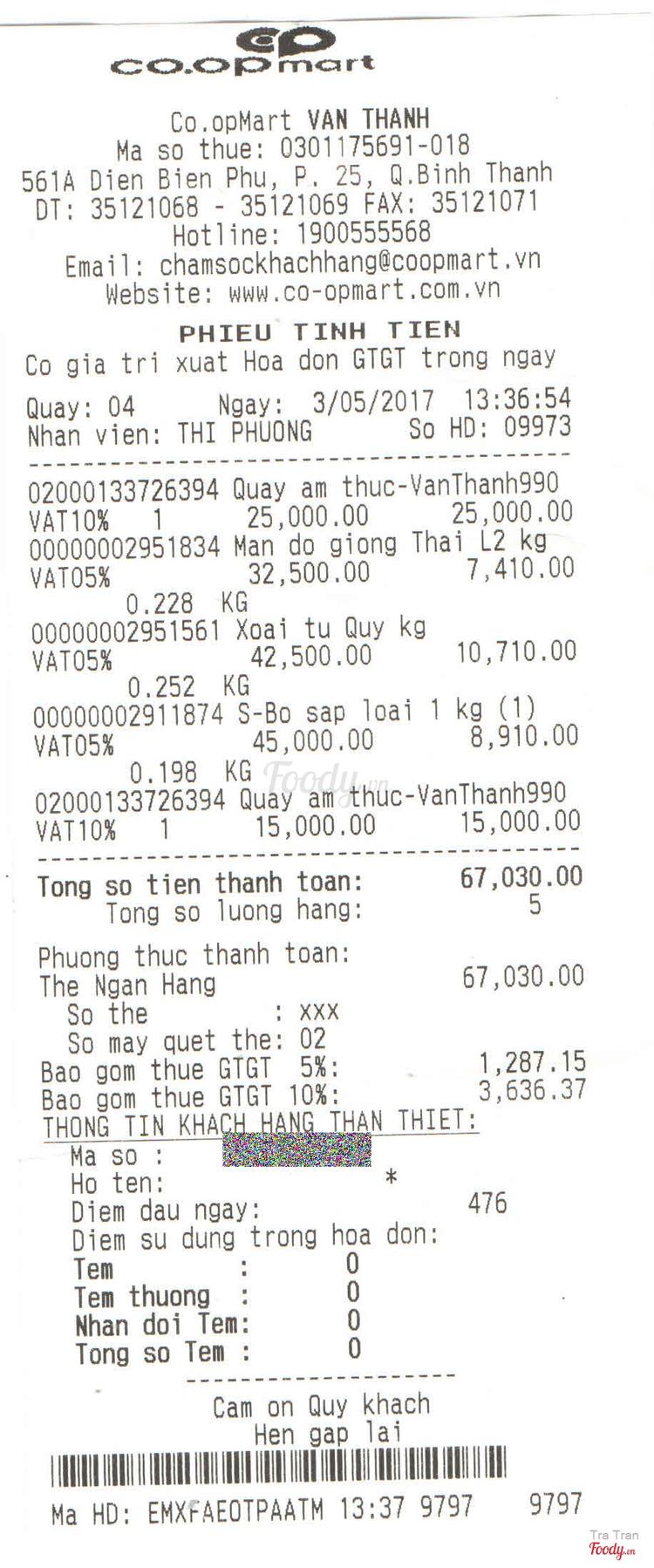 Siêu Thị Co.opMart - Nguyễn Hữu Cảnh ở TP. HCM