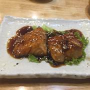 Cá hồi nướng teriyaki