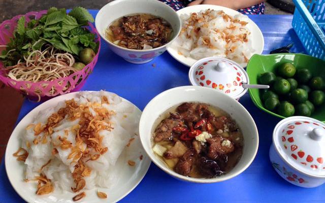 Bánh Cuốn Chả Mực & Bún Thịt Nướng