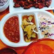 Panchan thịt heo vs sốt thịt nướng