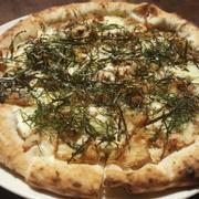 pizza gà rong biển