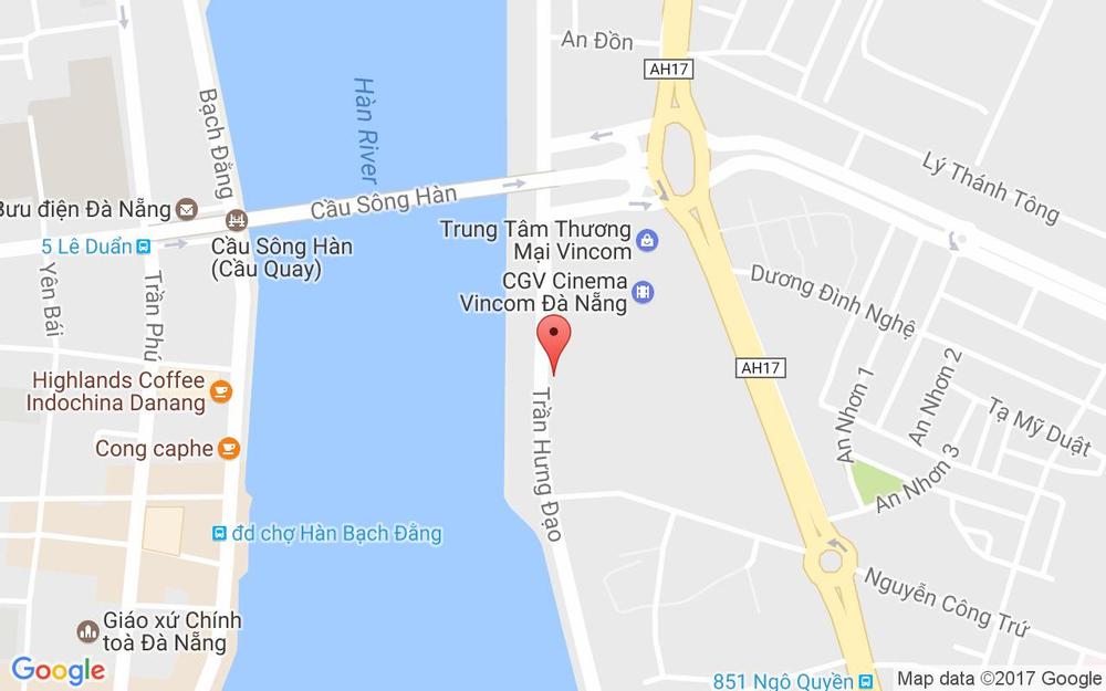Vị trí bản đồ Vân Anh Massage Club - Trần Hưng Đạo ở Đà Nẵng