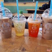 Trà sữa phô mai tươi trân châu đen size M,trà trái cây ( xoài ) size S,trà trái cây ( đào ) size S,trà sữa phô mai tươi trân châu trắng size M