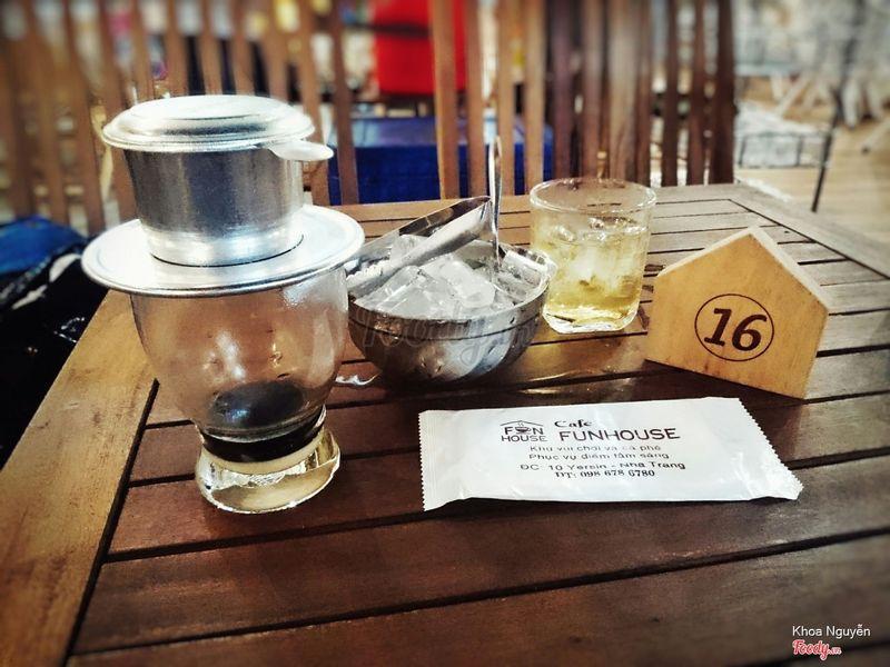 Cafe sữa pha phin