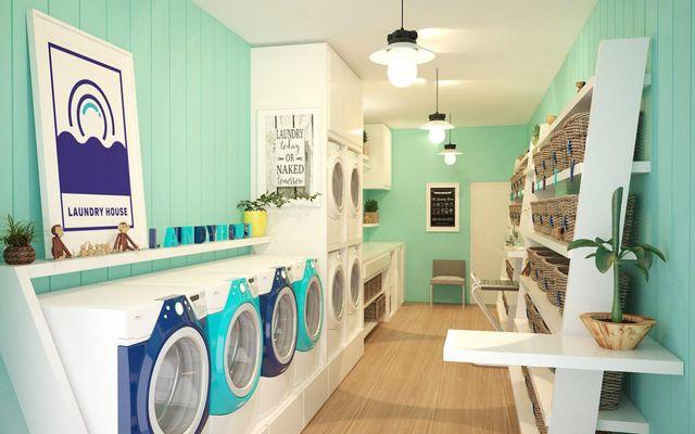 Hệ Thống Giặt Sấy Laundry House - Cống Quỳnh