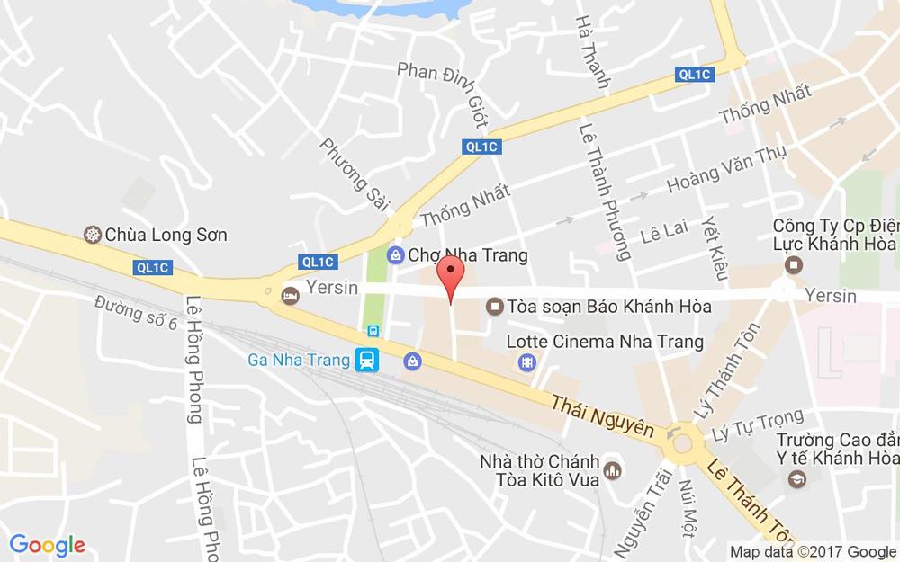 Vị trí bản đồ 27 Bà Triệu Tp. Nha Trang Khánh Hoà