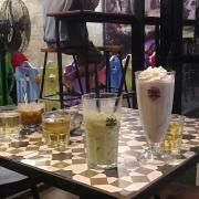 Cookie đá xay ,trà sữa thái xanh ,cafe sữa