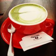 các loại thức uống trà xanh của quán rất ngon