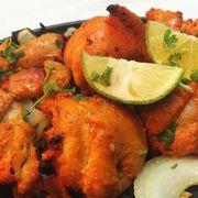 Gà nướng ướp gia vị Ấn Độ