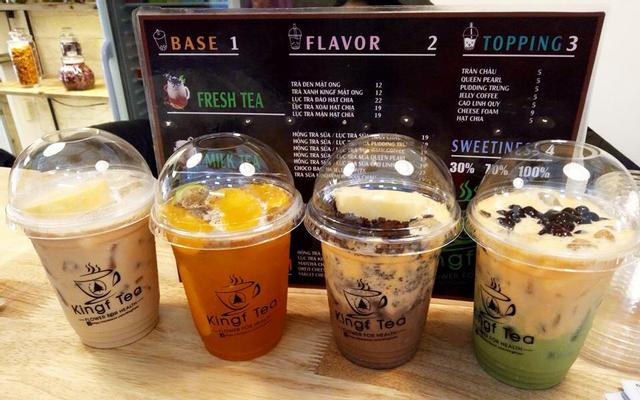 Kingf Tea - Trà Sữa Thảo Mộc - Nguyễn Văn Trỗi