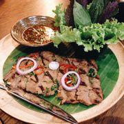 Bò nướng kiểu Thái