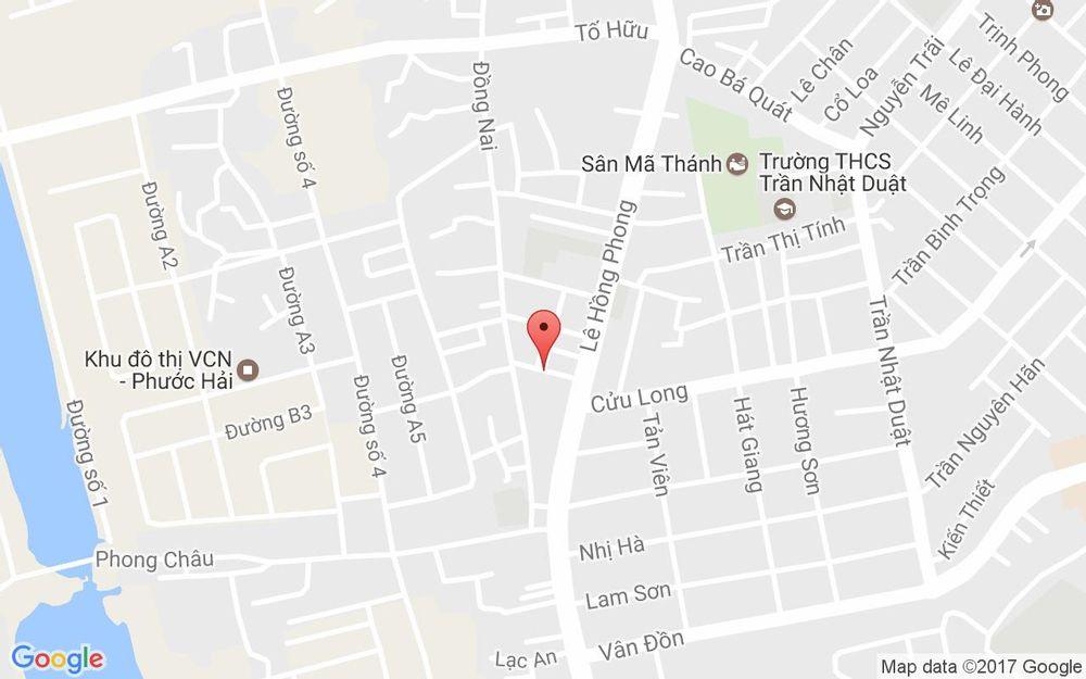 Vị trí bản đồ 7 Tiền Giang Tp. Nha Trang Khánh Hoà