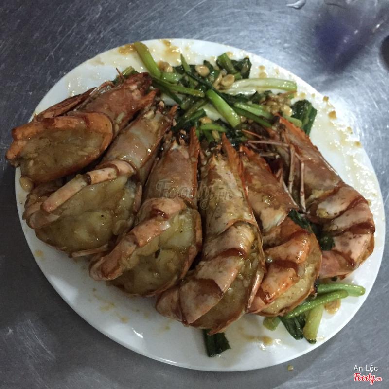 Tôm sốt wasabi