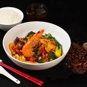 Món Mala nằm trong set lunch của Kakhu được phục vụ mỗi ngày