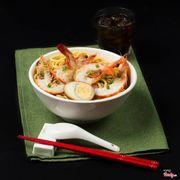 Mì Tôm Singapore (Prawn Noodles Soup)