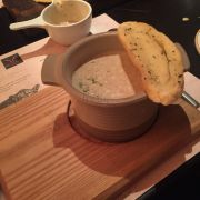 Soup with truffle