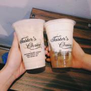 Trà Ô long trân châu trắng và trà xanh kem sữa