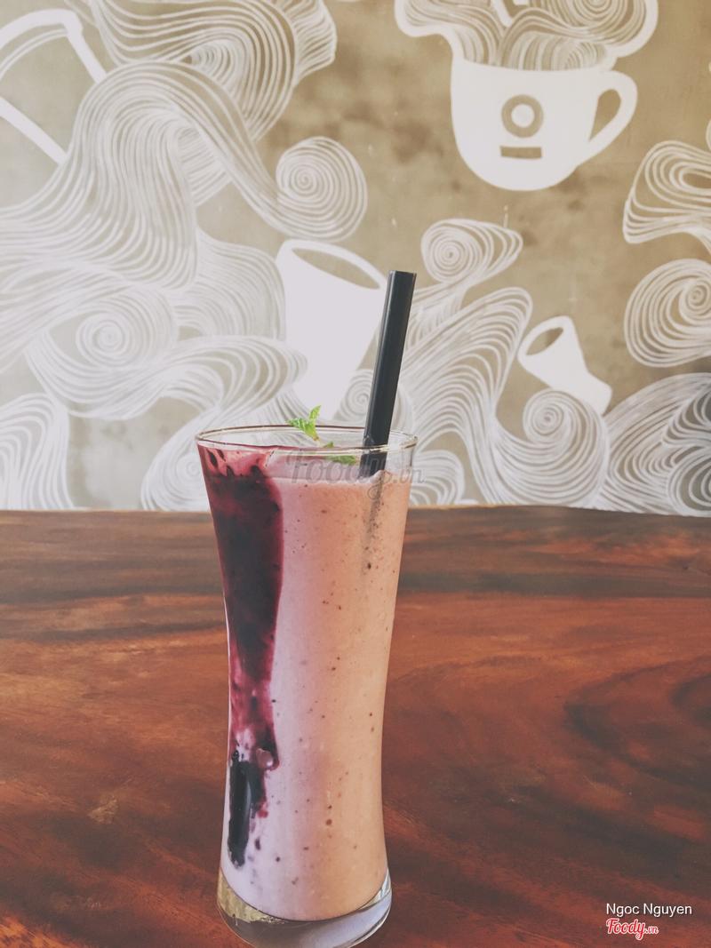 Smoothie blueberry