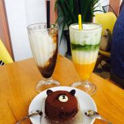 Trà xanh chanh dây + cafe dừa