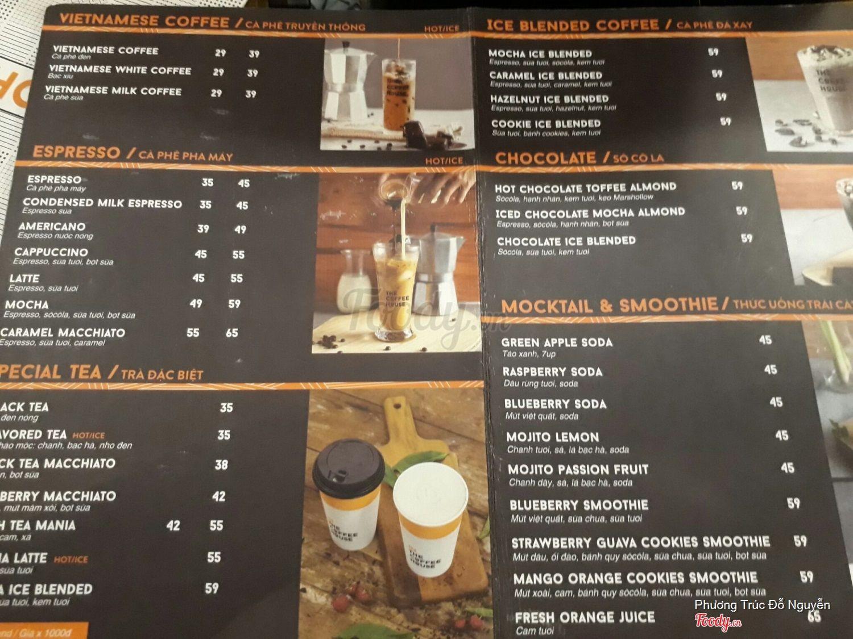 Cafe Soma Menu
